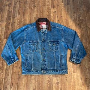 VTG 90's Marlboro Country Store Denim Jacket, XL